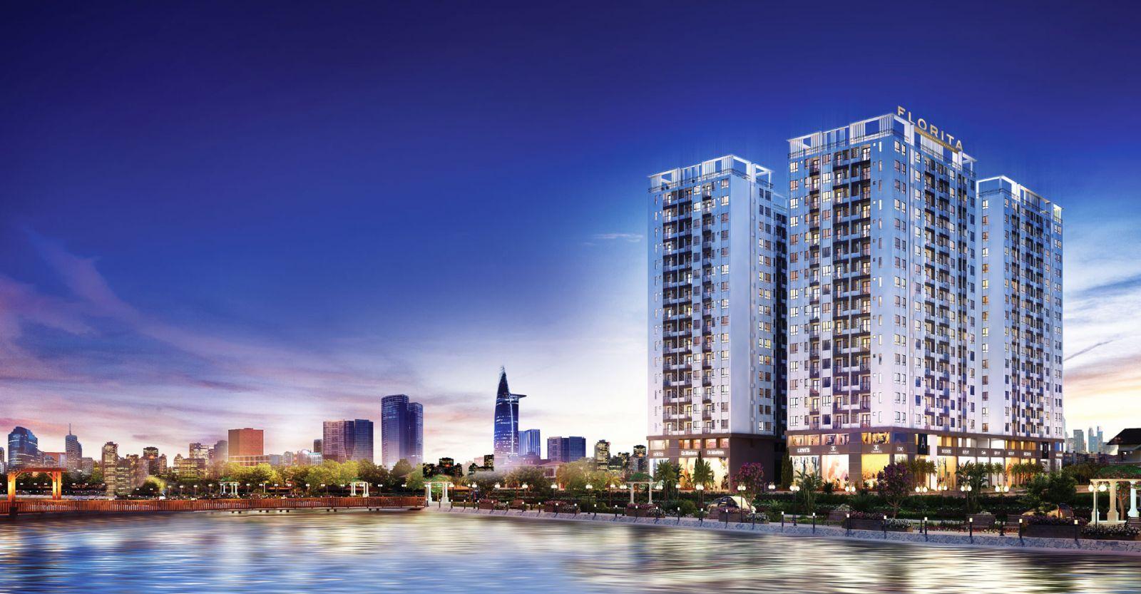 Phối cảnh dự án Florita - Hưng Thịnh